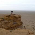 Au bord de la réserve naturelle d'Ergelyin Zoog