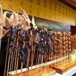 Brochettes du marché de nuit (Wangfujing)