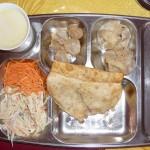 Beignet de Mouton (khuushuur) et thé