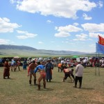 Naadam - Lutte mongol